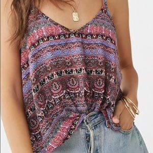 Forever 21 Paisley Print Cami